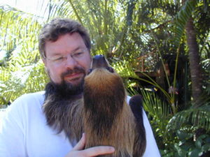 Me with a Sloth | Chuck Warren Copy and Content